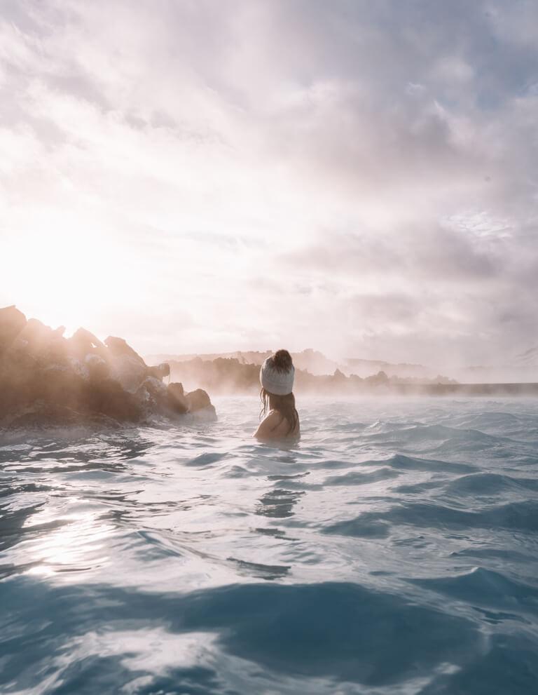Island Sehenswuerdigkeiten Blaue Lagune