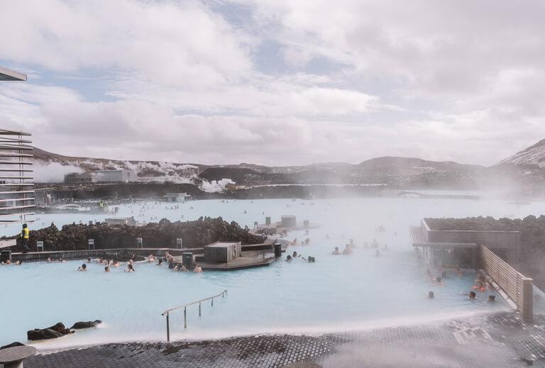 Island Sehenswuerdigkeiten Blue Lagoon