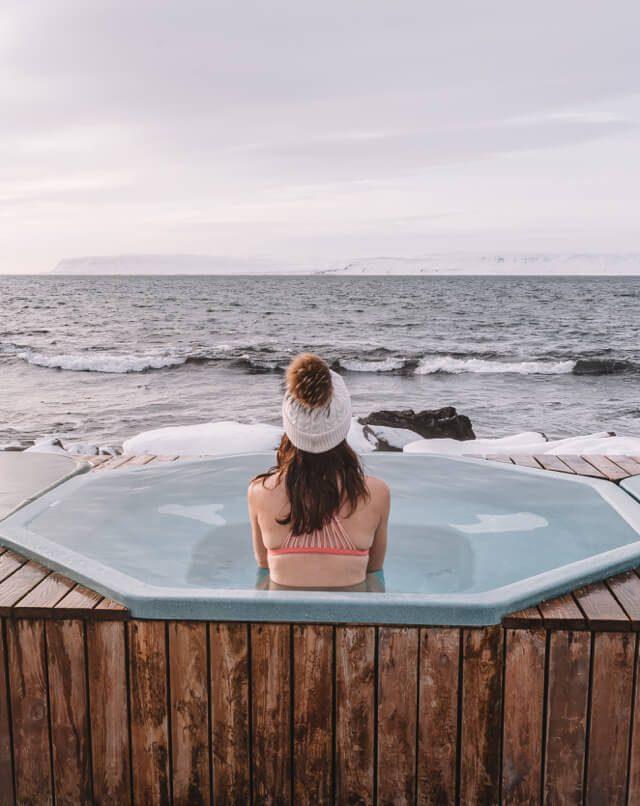 Island Westfjords Drangsnes Hot Pots