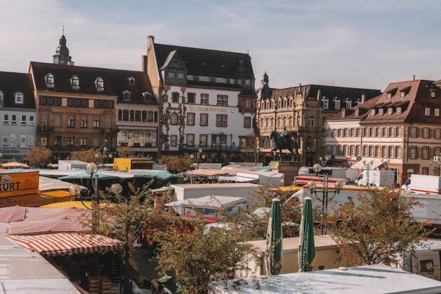 Wochenmarkt Landau Pfalz
