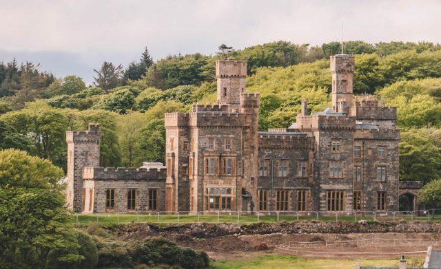 Burg Stornoway Schottland