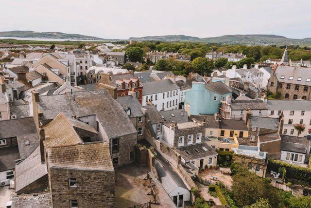 Castletown Isle of Man Aussicht Schloss