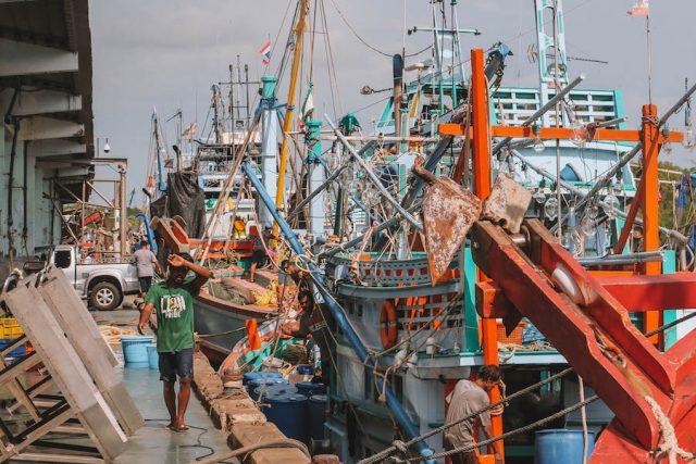 Fischermarkt Thailand