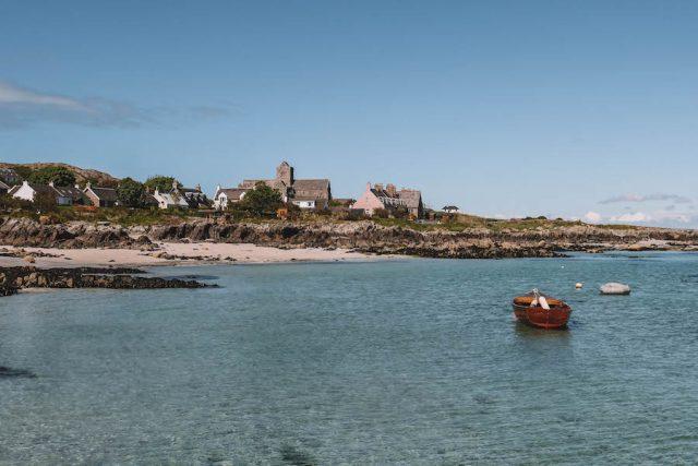 Iona Schottland Bucht