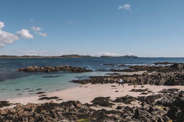 Iona Schottland Strand
