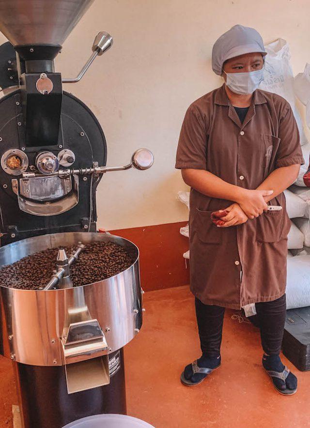 Kaffeefabrik Chumphon Thailand