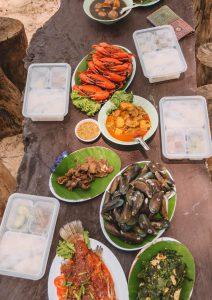 Koh Kham Tok lunch