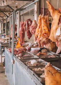 Markt Thailand Fleisch