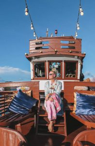 Royal Andaman Boat Ranong dress