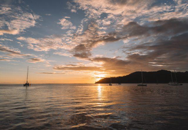 Baie Apu Tahaa Tahiti