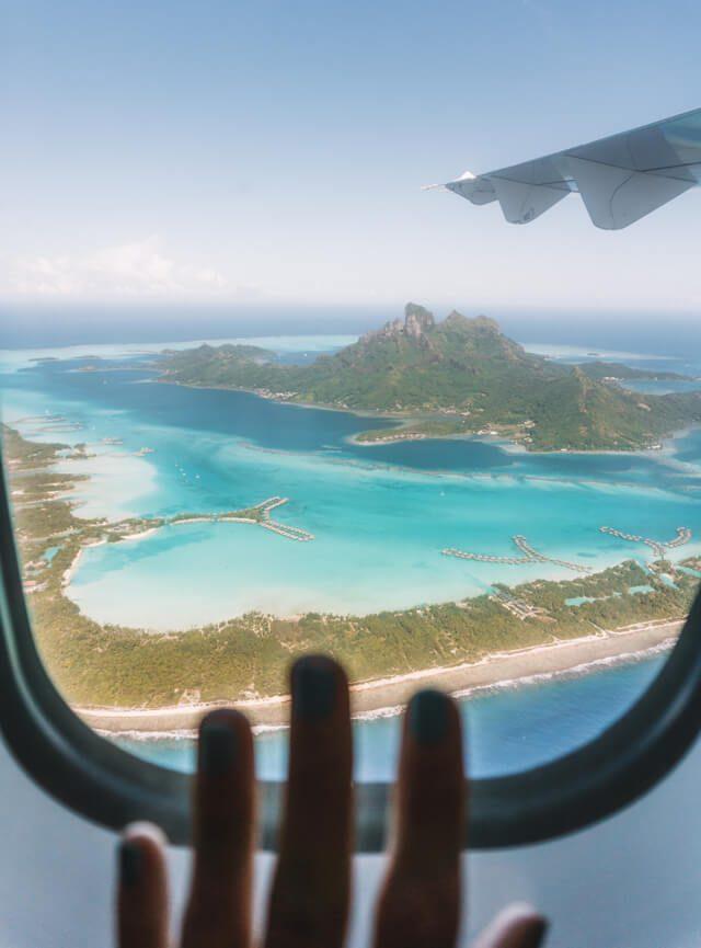Bora Bora Flug Air Tahiti
