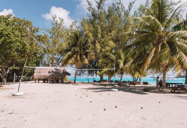 Bora Bora Motu Picknick
