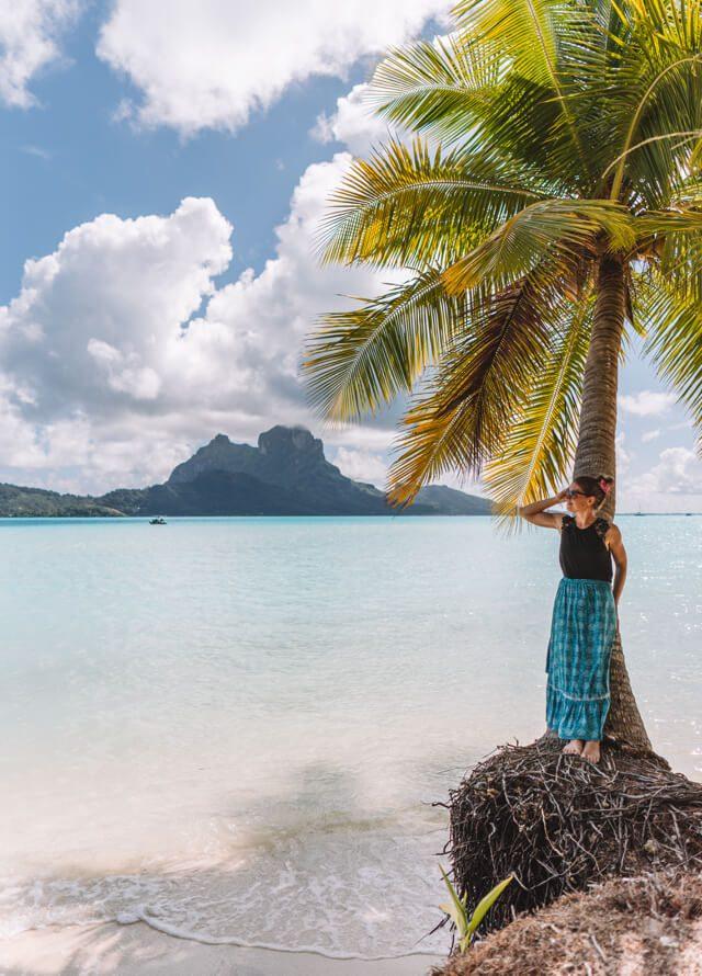 Bora Bora Tahiti Franzoesisch Polynesien