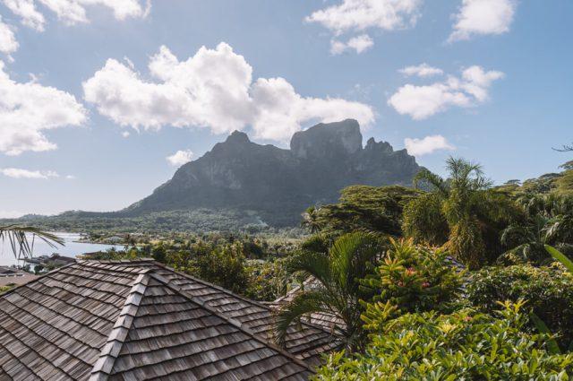 Bora Bora Urlaub Hotel Rohotu Fare Aussicht