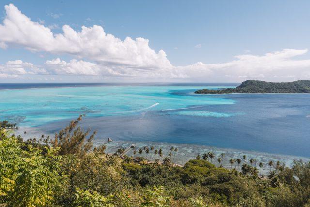 Bora Bora Urlaub Jeeptour Viewpoint