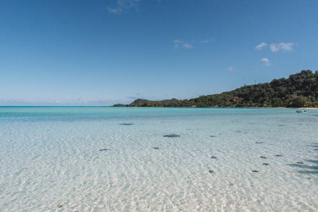 Bora Bora Urlaub Matira Beach