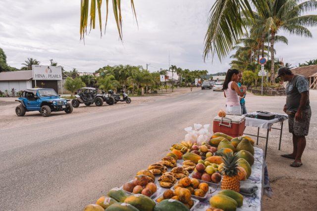 Bora Bora Vaitape Village Obst