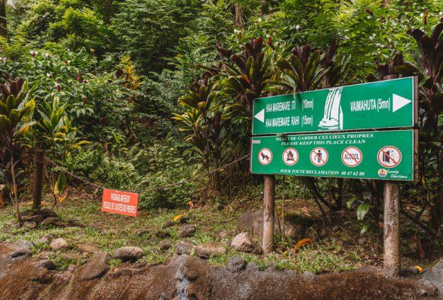 Cascades de Faarumai Tahiti