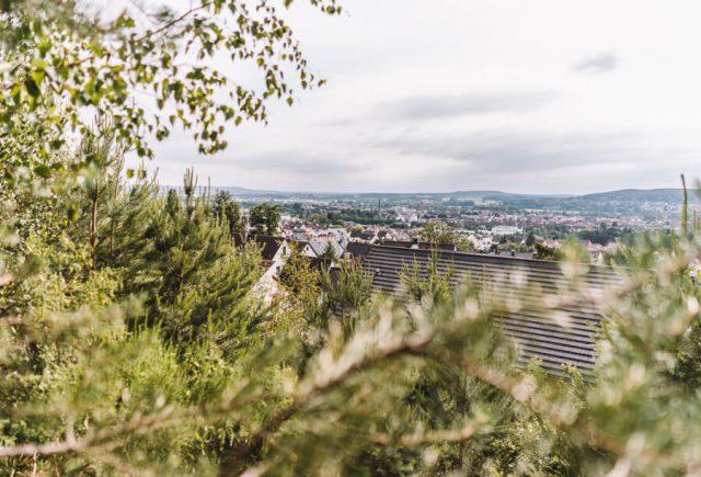 Forchheim Sehenswuerdigkeiten Kellerwald Aussicht