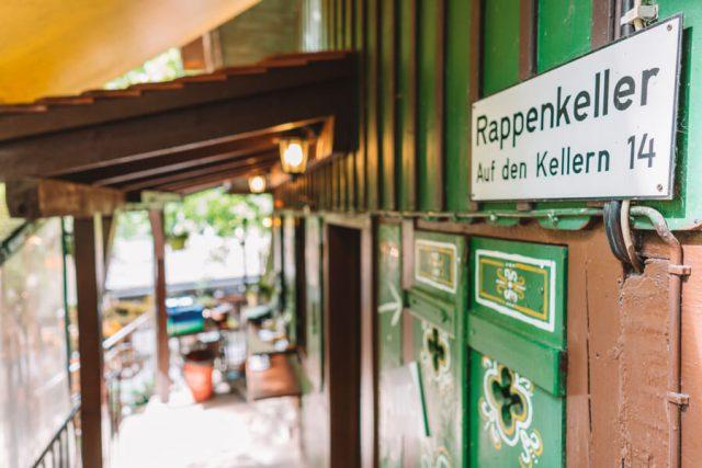 Forchheim Sehenswuerdigkeiten Kellerwald Rappenkeller