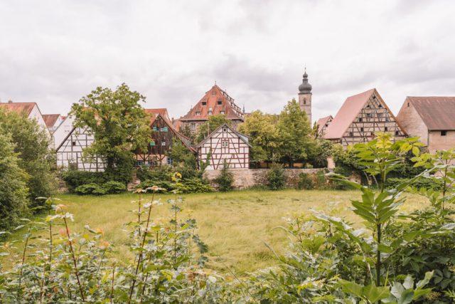 Forchheim Sehenswuerdigkeiten Stadtmauer
