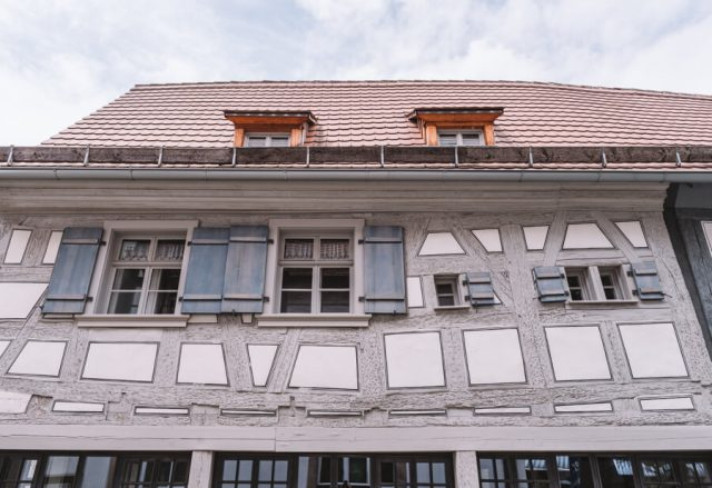 Forchheim Sehenswuerdigkeiten aeltestes Haus