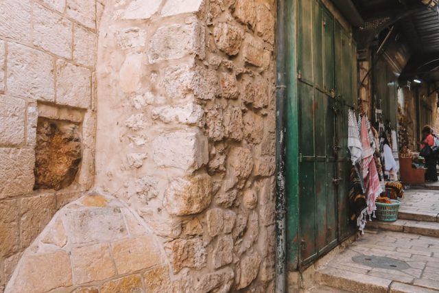 Handabdruck Jesu Jerusalem Sehenswuerdigkeiten