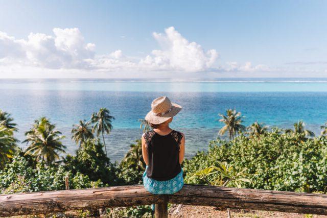 Huahine Viewpoint Aussicht Lagune