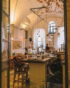 Jerusalem Hamiffal Cafe