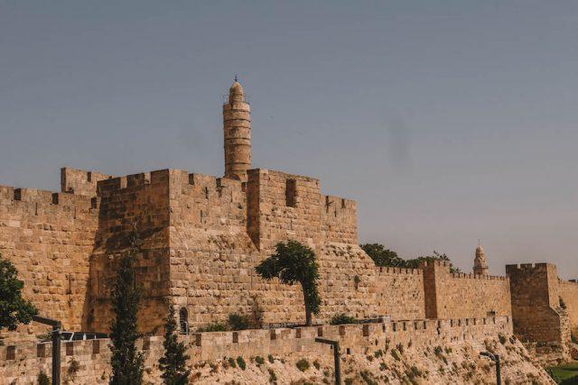 Jerusalem Old Town Stadtmauer