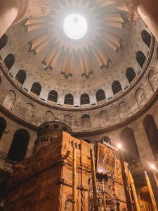 Jerusalem Sehenswuerdigkeiten Grabeskirche innen
