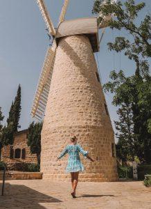 Jerusalem Sehenswuerdigkeiten Montefiore Windmuehle