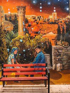 Jerusalem Sehenswuerdigkeiten Streetart