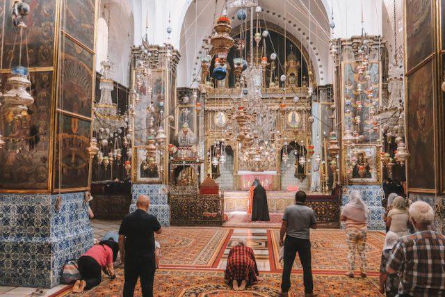 Kirche armenisches Viertel Jerusalem Sehenswuerdigkeiten