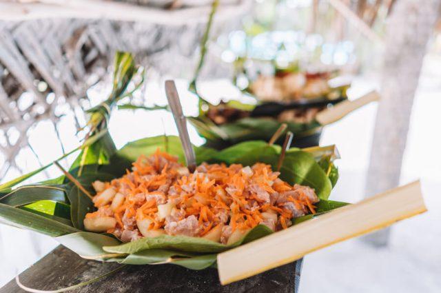 Lunch Picknick Bora Bora Motu
