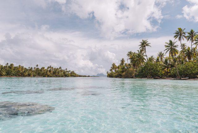 Motu Franzoesisch Polynesien Tahaa
