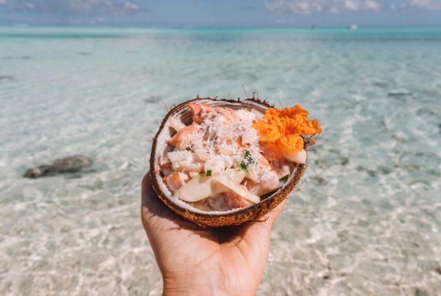 Nationalgericht Franzoesisch Polynesien Poisson Cru Suedsee