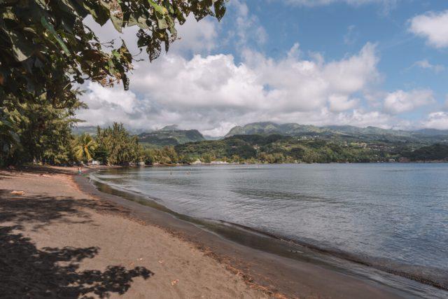 Pointe Venus Strand Tahiti