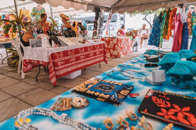Raiatea Uturoa Markt
