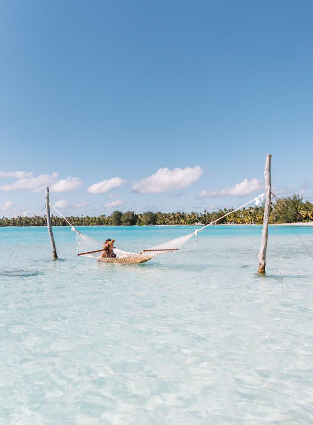St Regis Bora Bora Urlaub Haengematte