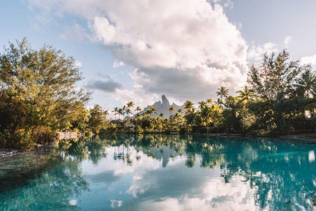 St Regis Bora Bora Urlaub Lagoonarium