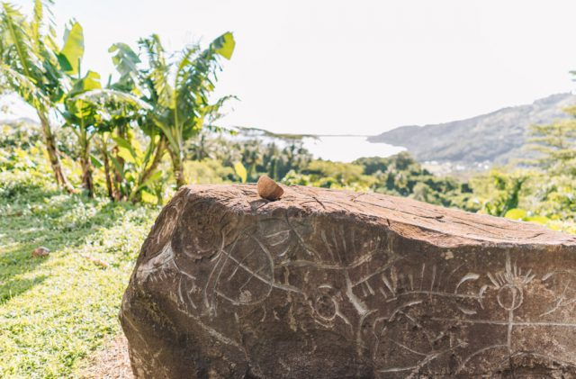 Suedsee Franzoesisch Polynesien Marae