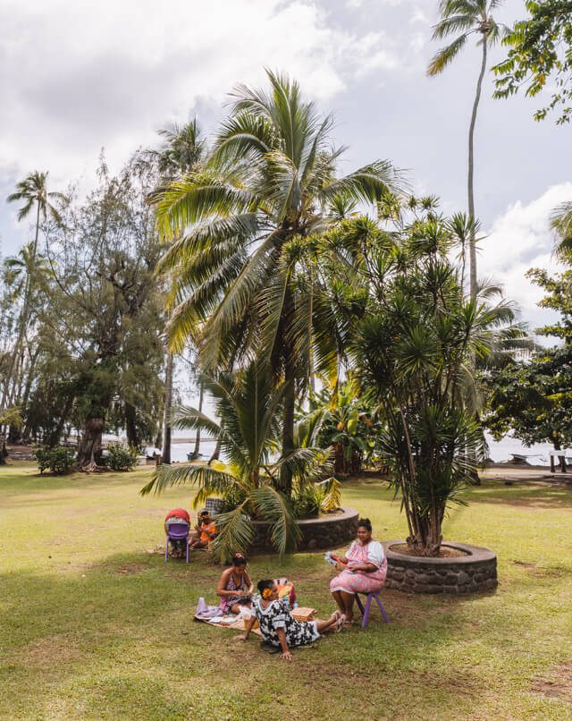 Suedseeinsel Franzoesisch Polynesien