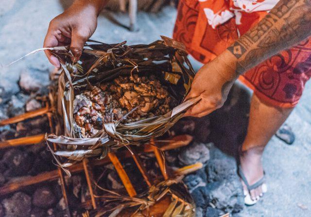 Tahaa Tahiti Erdofen Suedsee