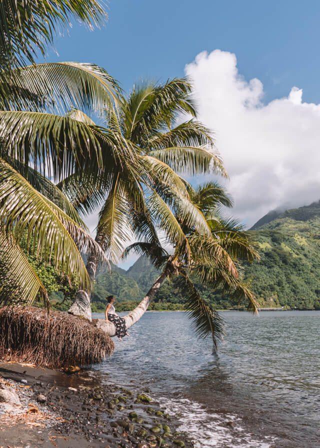 Tahiti Iti Suedseeinsel Strand