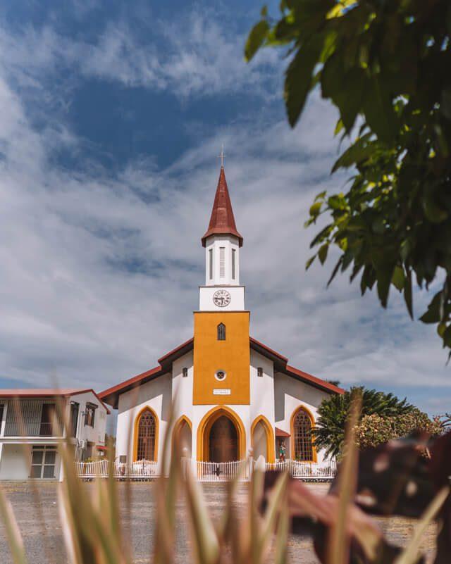 Tahiti Kirche Suedseeinsel