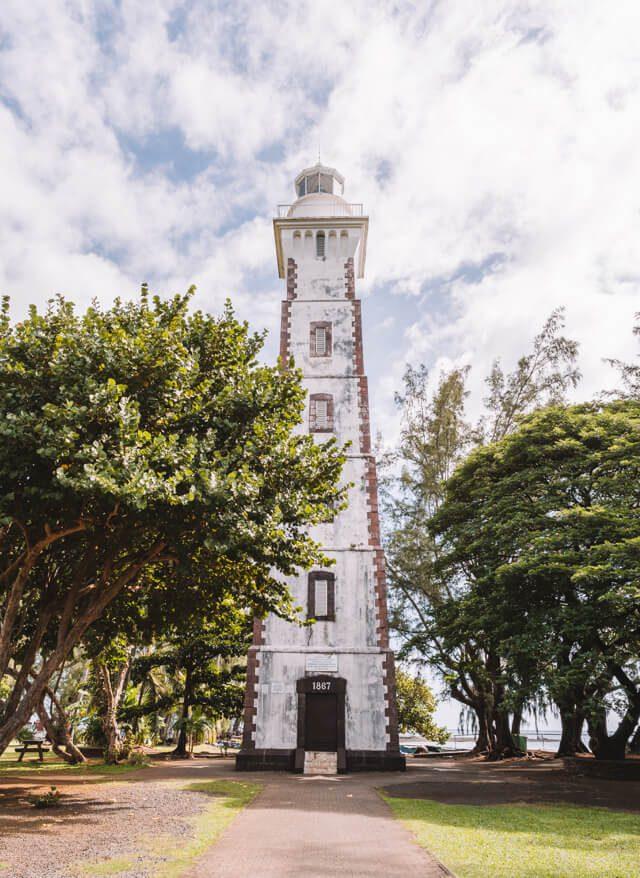 Tahiti Leuchtturm Pointe Venus