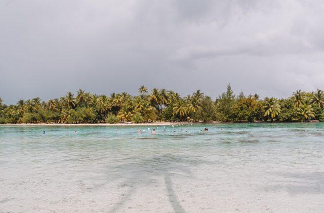 Tahiti Tahaa Motu Schnorcheln