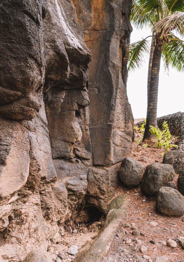 Tahiti Urlaub Arahoho Blowhole