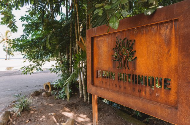 Tahiti Urlaub Botanischer Garten